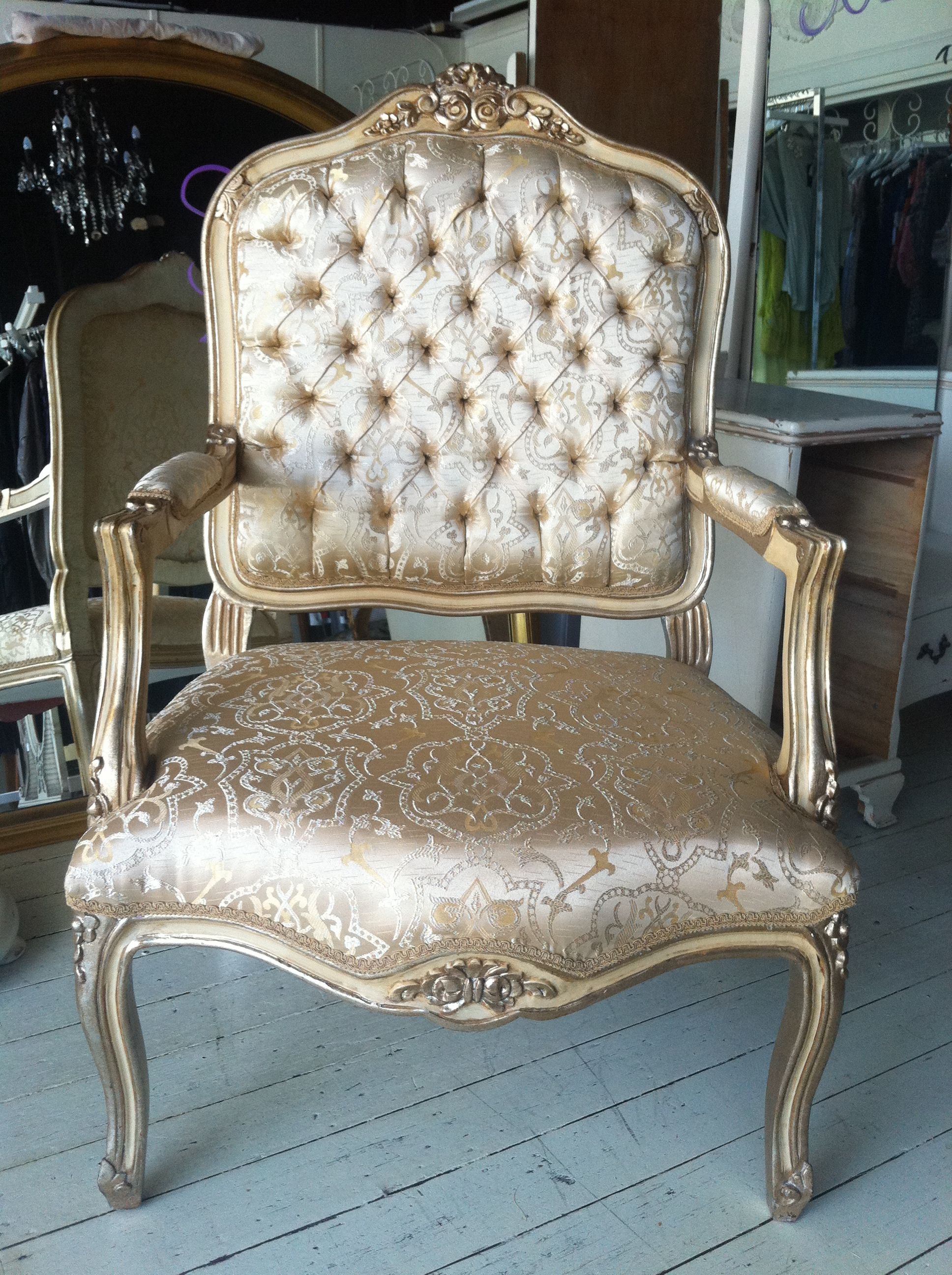 French Chairs & Chaise French Furniture Hire