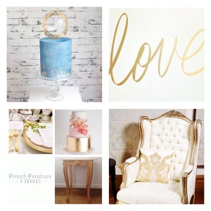 White and Gold Theme